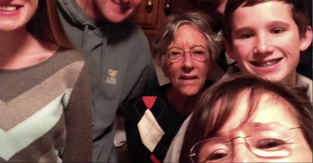 Charter Senior Living of Hermitage Video Thumbnail Family Group Surrounded by senior living resident